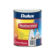 dulux weathershield 4l low sheen vivid white exterior paint. Black Bedroom Furniture Sets. Home Design Ideas