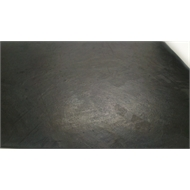Ideal 1m Black Flat Surface Rubber Matting Sheet