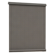 Windoware Outdoor Roll Up Blind - 1200mm x 2100mm Charcoal