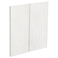 Kaboodle White Forest Modern Corner Base Cabinet Door - 2 Pack
