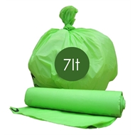 Maze 7L Compostable Bin Liners - 20 Pack