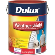 Dulux Weathershield 10L Semi Gloss Ultra Deep Exterior Paint