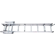Instant Access Small Aluminium Scaffold Componant Scaffold Extension Ladder Lad2436