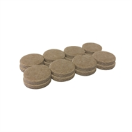 Surface Gard 25mm Round Self Adhesive Felt - 16 Pack