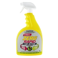 Yates 1L Zero Rapid 1 Hour Action Weed Killer
