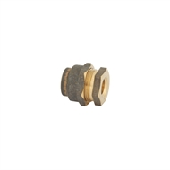 Kinetic 15FL x 20FI Brass Female Flared Compression Union