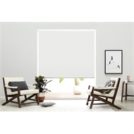 Zone Interiors 180 x 240cm Chicago Long Drop Indoor Roller Blind - Chalk
