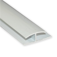 Icon 4.5mm x 3m White Supa Cover Moulding