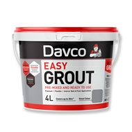 Davco 4L Ash Grey Ready To Use Easy Grout
