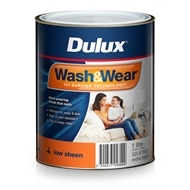 Dulux Wash&Wear 1L Extra Bright Low Sheen Paint