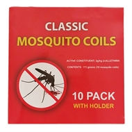 Waxworks Mosquito Repellent Coils - 10 Pack