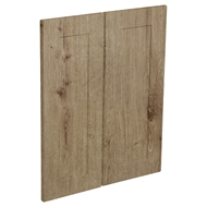 Kaboodle Spiced Oak Alpine Corner Wall Cabinet Door - 2 Pack