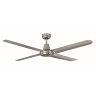 Mercator 140cm Stainless Steel Swift Ceiling Fan