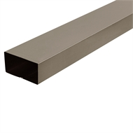 COLORBOND 0.4 x 100 x 50mm x 1.8m Steel Downpipe - Jasper