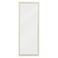 Polar Eco-View 600 x 1545mm White Birch Frosted Fixed Panel Window