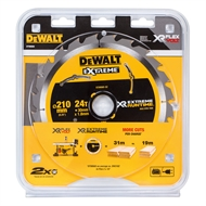 DeWALT 210mm 24T Extreme Runtime Table Saw Blade