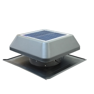 Kimberley 650 x 650 x 325mm Brushless Solar Roof Ventilator