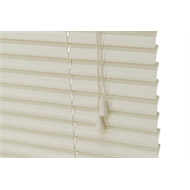 Zone Interiors 90 x 150cm 25mm PVC Dawn Venetian Blind - Light Grey