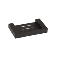 Mondella 140mm Matte Black Vivace Soap Holder