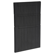 Kaboodle 450mm Black Forest Country 3 Drawer Panels