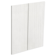 Kaboodle White Forest Modern Corner Wall Cabinet Door - 2 Pack
