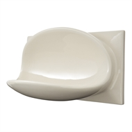 Roberts Designs 200 x 100mm Alabaster Ceramic Soap Holder Tile