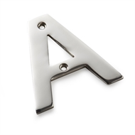 Sandleford 65mm Stainless Steel Letter A
