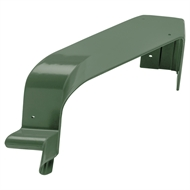 COLORBOND 115mm 90 Degree Quad Gutter Internal Cast Corner - Cottage Green