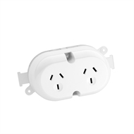 DETA 10A Double Outlet Plug Base