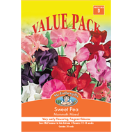 Mr Fothergill's Mammoth Sweet Pea Value Seed Pack