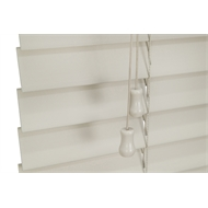 Zone Interiors 90 x 210cm 50mm PVC Long Island Venetian Blind - Stone