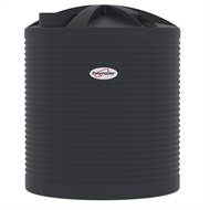 Polymaster 7200L Round Corrugated Poly Water Tank - Ironstone