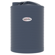 Polymaster 3360L Round Corrugated Poly Water Tank - Mountain Blue
