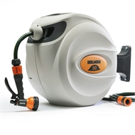 Holman Retractable Hose Reel with Spray Gun - 30m