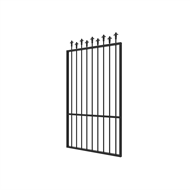 Protector Aluminium 975 x 1800mm Custom Hi-Lo Spear Top Pool Gate