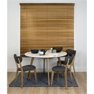 Windoware 45mm Cedar Venetian Blind - 1500mm x 1500mm Western Red Cedar