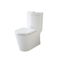 Caroma WELS 4 Star Sahara II Wall Faced Close Coupled Toilet Suite