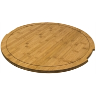 Décofire 65cm Bamboo Round Table Top