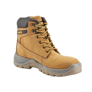 DeWALT Size 10 UK/AU Wheat Titanium Pro Comfort Extreme Duty Leather Safety Work Boot