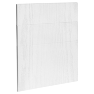 Kaboodle 600mm Provincial White Modern 3 Drawer Panels