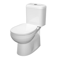 Stylus WELS 4 Star Prima II Close Coupled P Trap Toilet Suite
