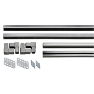 Matrix 1815 x 915 x 28mm Charcoal C-Channel Frame Kit