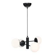 Brilliant Lighting Black Mika DIY Pendant Light