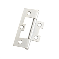 Zenith 65mm Zinc Plated Non Mortise Fixed Pin Hinge