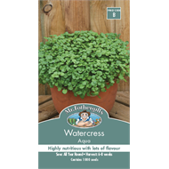 Mr Fothergill's Aqua Watercress Vegetable Seeds