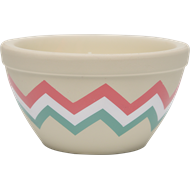 Waxworks Citronella Candle In Striped Terracotta Pie Dish