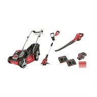 Ozito 18V Power X Change 3 Piece Power Garden Kit