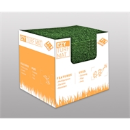 Tuff Turf 1.0 x 1.0m x 7mm Synthetic Turf Mat