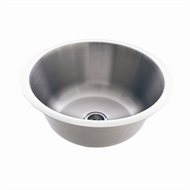 Everhard 15L Circo Stainless Steel Single Bowl Sink With Plug And Waste
