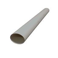 Holman 150mm x 1m PVC DWV Pipe